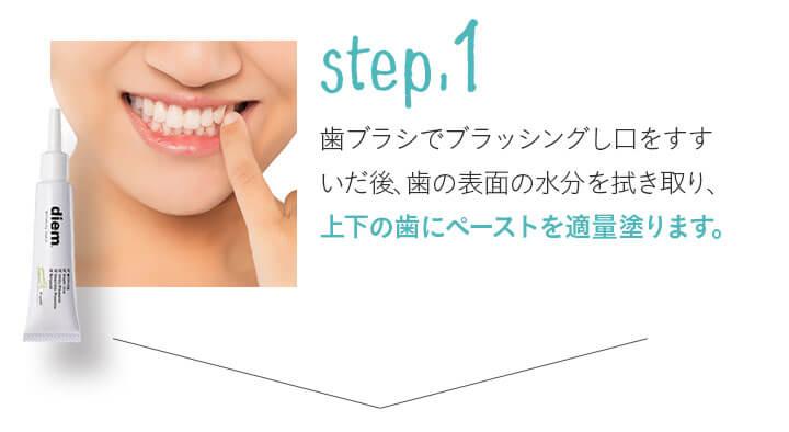 使い方step.1